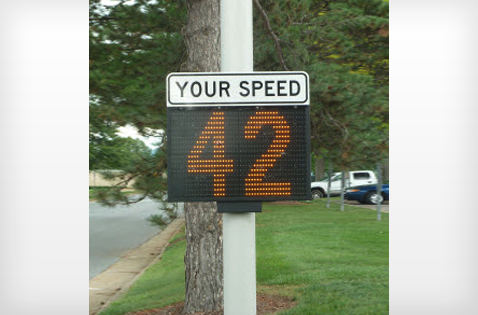 Speedalert Portable Radar Message Display All Traffic