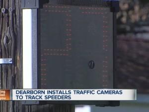 New signs take pictures of speeders in Dearborn | All