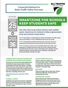 SmartZone for Schools Radar Speed Display for Traffic Safety