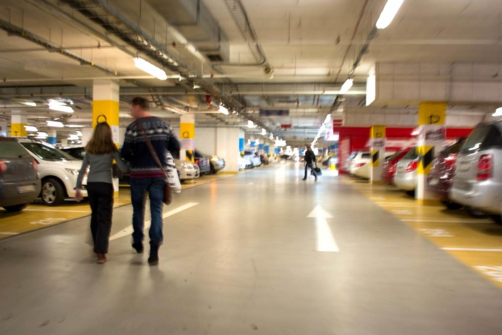 solutions to car parking problems in large shopping malls